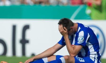 Wormatia Worms - Hertha BSC Berlin: Wagner frustrado