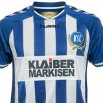 Nueva camiseta Karlsruhe 2014/15 local
