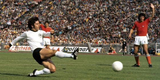 Cada balón que Müller tocaba terminaba en las redes. Imagen: www.sport.es