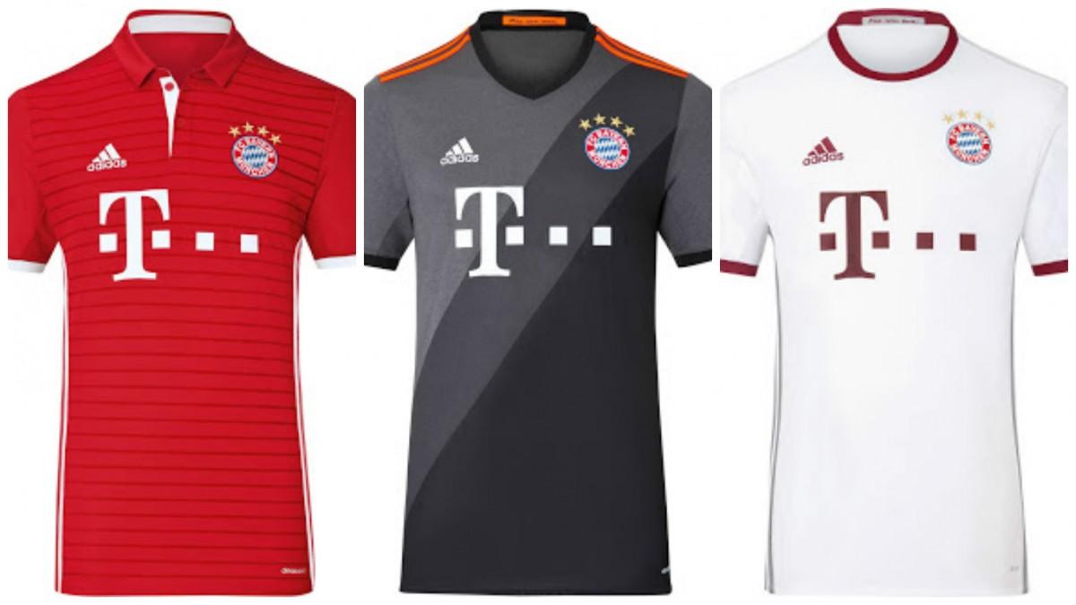 FOTOGALERÍA  Todos los uniformes de la Bundesliga 2016 2017 - Mi ... f7b41d7fbc58f