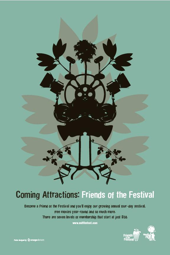 Maryland Film Festival poster