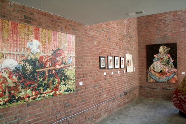 No Dandelions Lived Here, works by Randi Reiss McCormack ('89), Beth Hoeckel