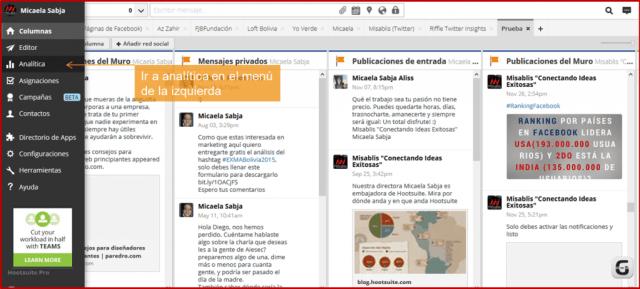 Analítica Hootsuite