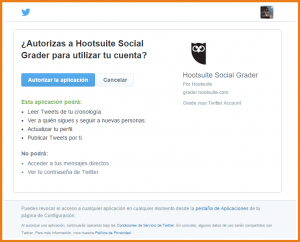Autorizar Twitter