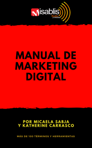 Manual de marketing digital: terminología y herramientas
