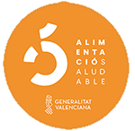 Logo alimento saludable Generalitat Valenciana
