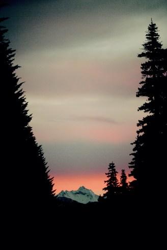 Dawn on Three Fingered Jack