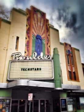 Boulder Theater Techstars Demo Day 2014