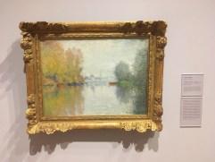 Autumn on the Seine, Argenteuil by Claude Monet