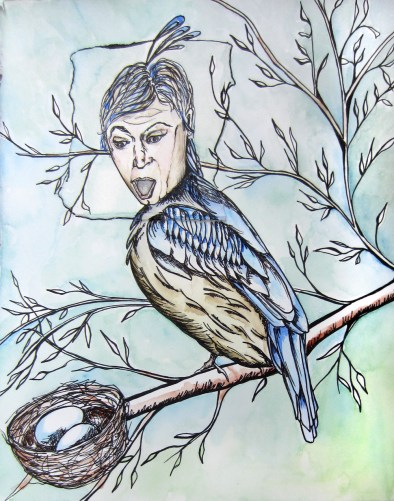 Day 57 (6/24/12): Bird Girl