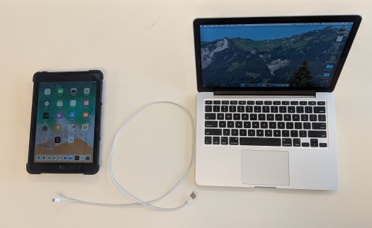 How to mirror your iOS device (iPhone & iPad) with a USB charging