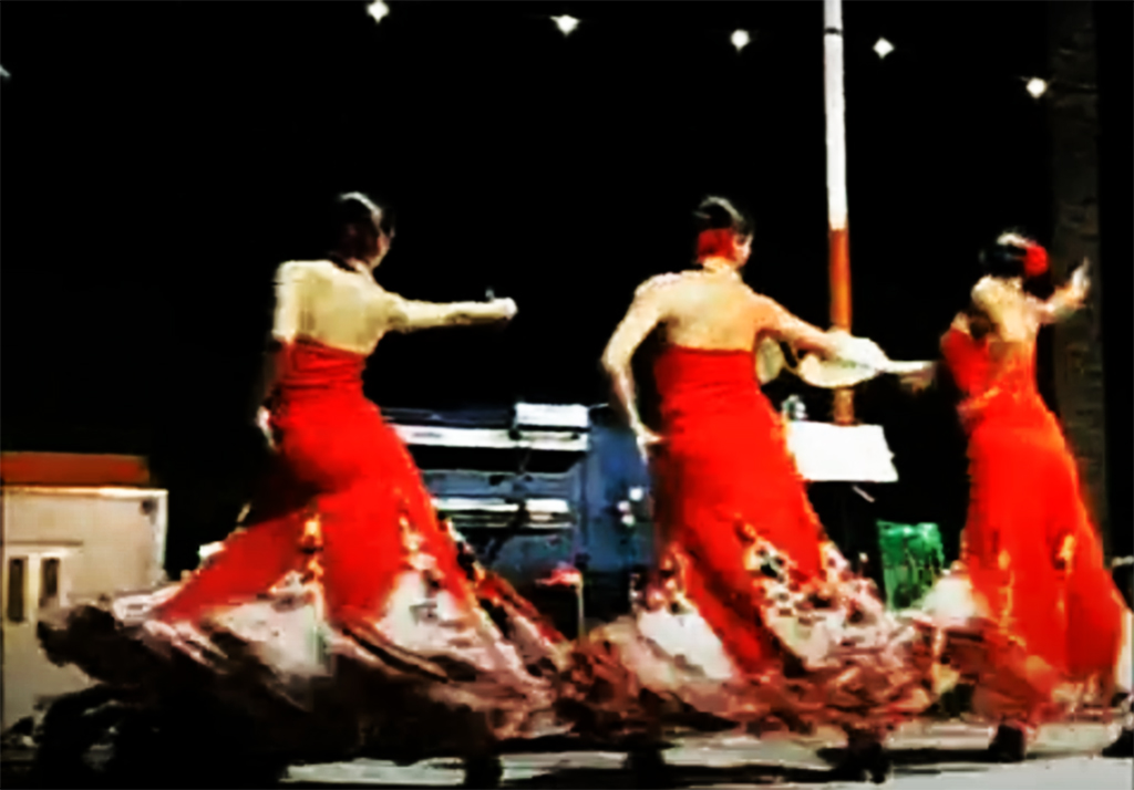 Ballet de Paulina Feria de abril Maspalomas 2009 Gran Canaria