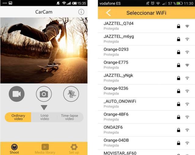 apps para cámaras deportivas xdv