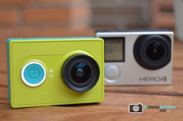GoPro Hero 4 Silver vs Xiaomi Yi Action