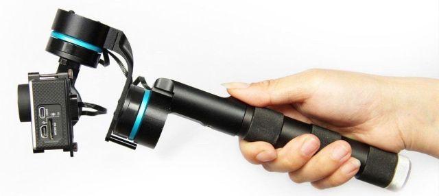 gimbals para cámaras deportivas