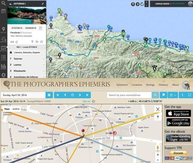 timelapse cámara deportiva herramientas