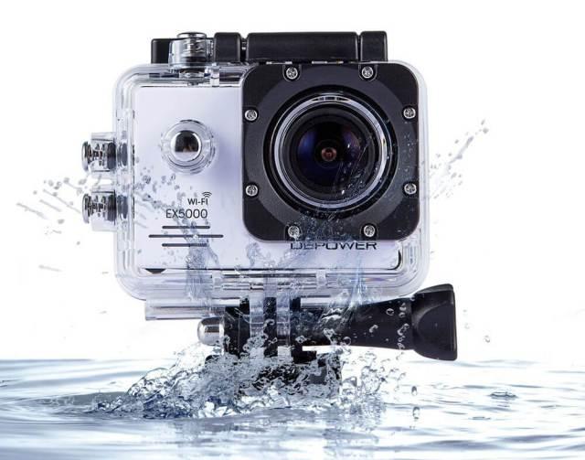 cámaras deportivas más vendidas en Abril EX5000
