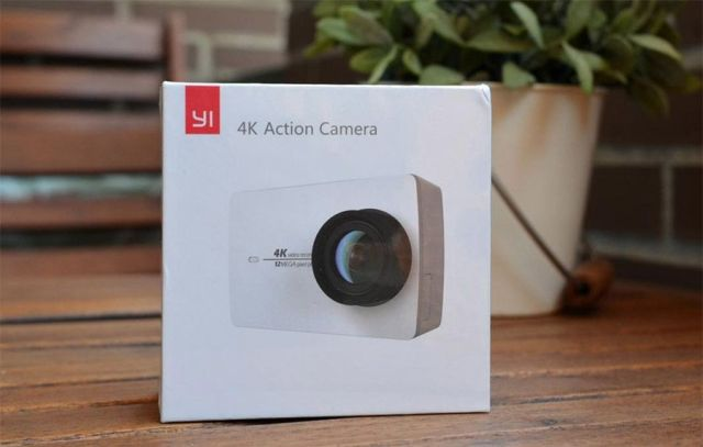 yi 4k action camera caja
