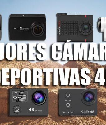 mejores cámaras deportivas 4k