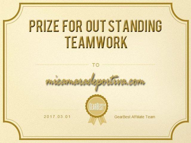 premio colaboración gearbest