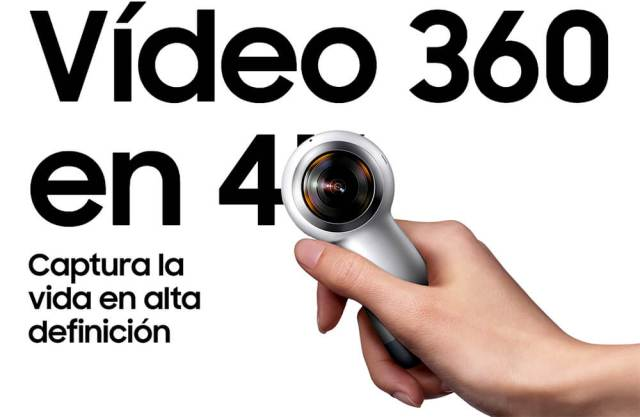 samsung gear 360 2017 camera