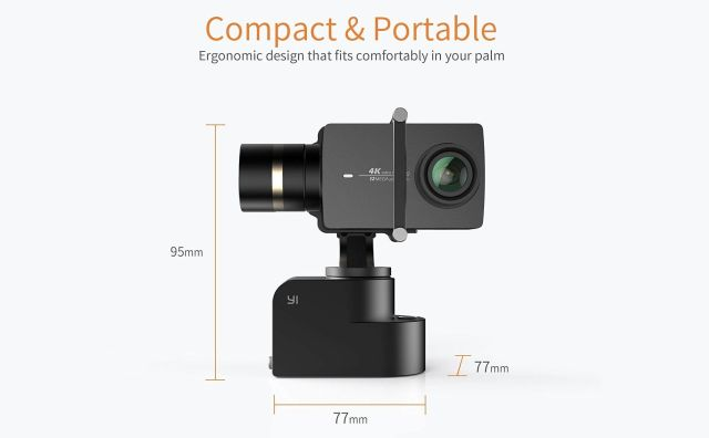 yi action camera gimbal