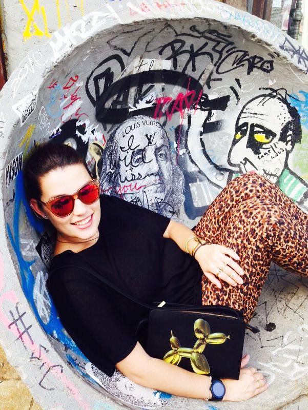 Cristina Jeff Koons H&M handbag