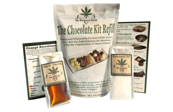Chocolate Weed Edibles Kit Refill