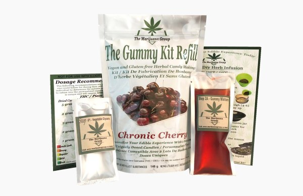 Cherry Gummy Weed Edible Kit Refill