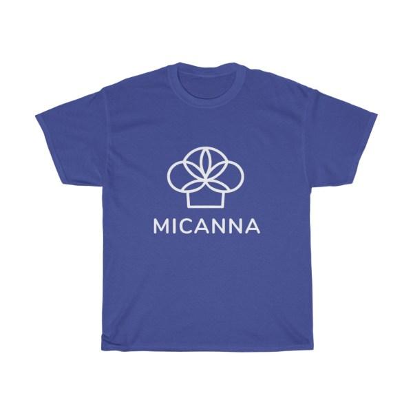 Purple Micanna Heavy Cotton Tee