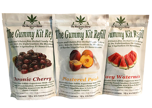 Micanna Gummy Weed Edibles Kit Refill