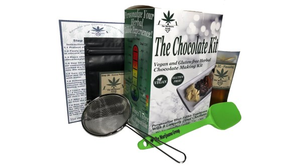 Micanna Chocolate Weed Edibles Kit