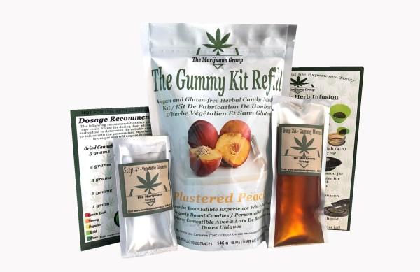 Peach Weed Edible Kit Refill