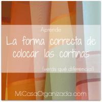 La Forma Correcta De Instalar Las Cortinas - Cómo Colgar Cortinas