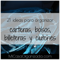 21 Ideas Para Organizar Carteras, Bolsos y Billeteras