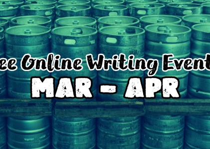 Free Writing Events Announcement!