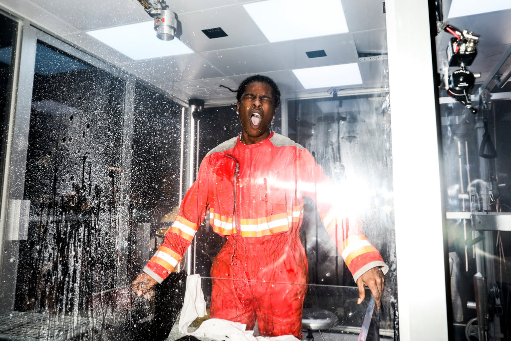 """ASAP Rocky Thinks Outside The Box In """"Lab Rat"""" Performance Art"""