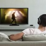 headphones while watching tv