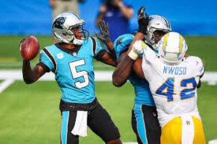 Bridgewater outplays Herbert as Panthers survive Chargers | Charlotte  Observer