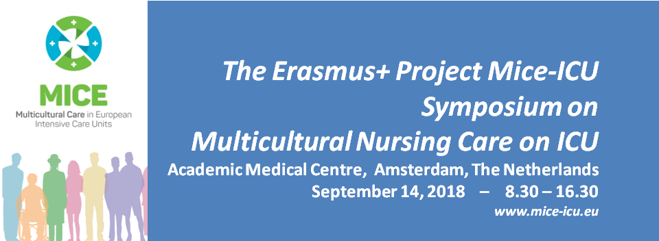 Final Programme Symposium on Multicultural Nursing Care in ICU ready!