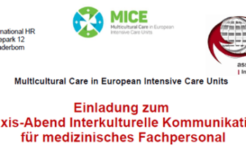 (English) Practice evening on multicultural communication in healthcare. Paderborn (Germany), September 18, 2018.