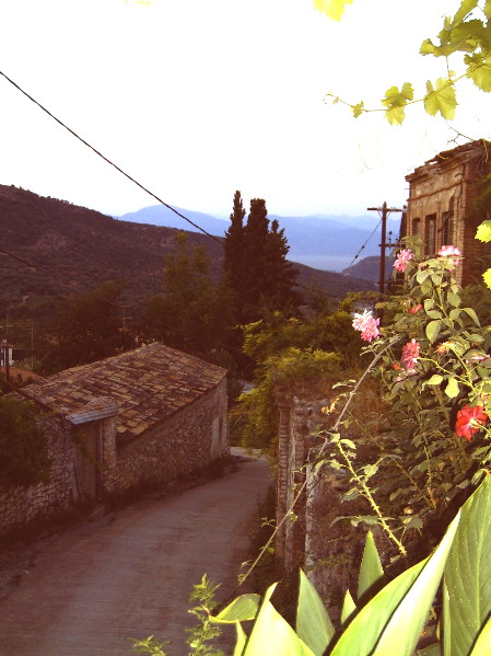 Griechenland, Peleponnes, unser Ort