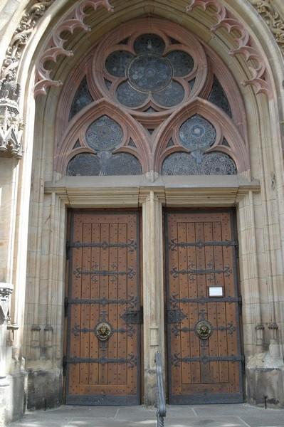 Thomaskirche am 9.8.08