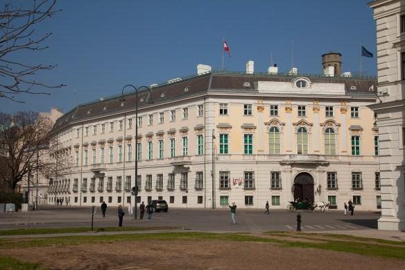 Wien, Regierungsviertel, Ballhausplatz