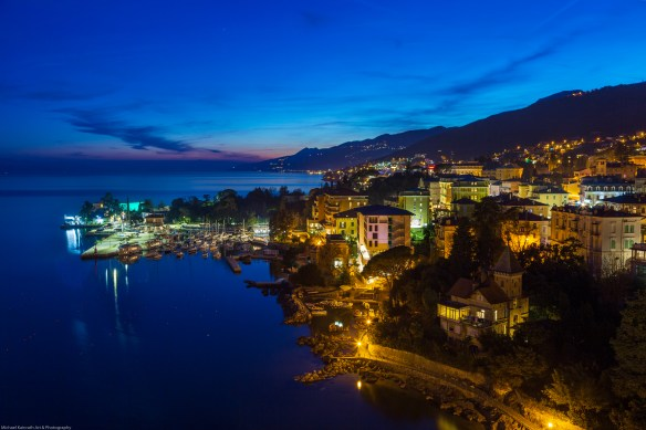 Opatija at Night (Lungomare)