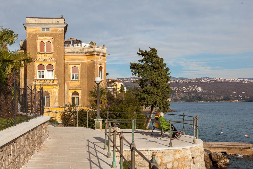 Opatija, Kroatien, Lungomare, Kvarner Bucht
