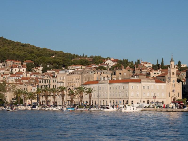 Split, Blick auf die Kirche und das Kloster St. Frane