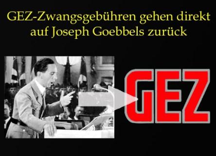 GEZ+Goebbels