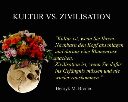 KULTUR vs Zivilisation