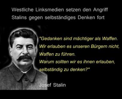 Stalin und freies Denken